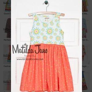 Matilda Jane Special Snowflake Dress  NWT